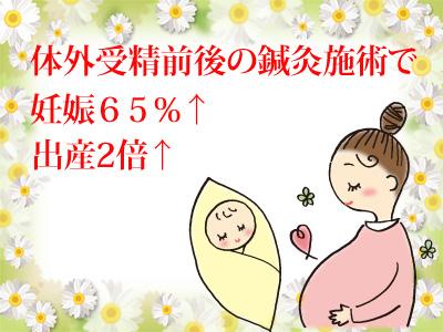 体外受精前後の鍼灸