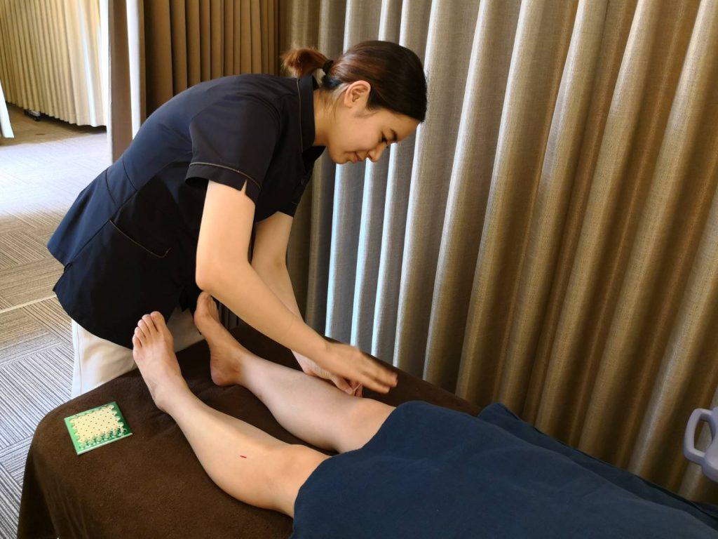 むくみの鍼灸治療